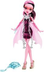 Monster High Кукла Draculaura Серия Haunted Getting Ghostly