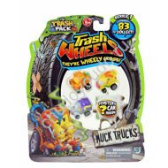 Trash Pack Trash Wheels 4Pk Blister - Muck Trucks