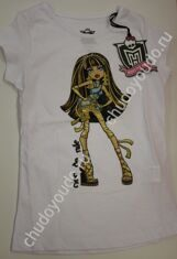 Monster High Футболка с принтом