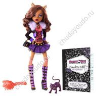 Monster High Clawdeen Wolf Doll with pet