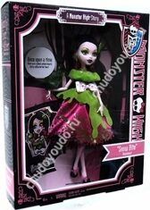 Monster High Scary Tales Snow Bite Draculaura