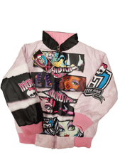 Monster High Куртка демисезонная двусторонняя